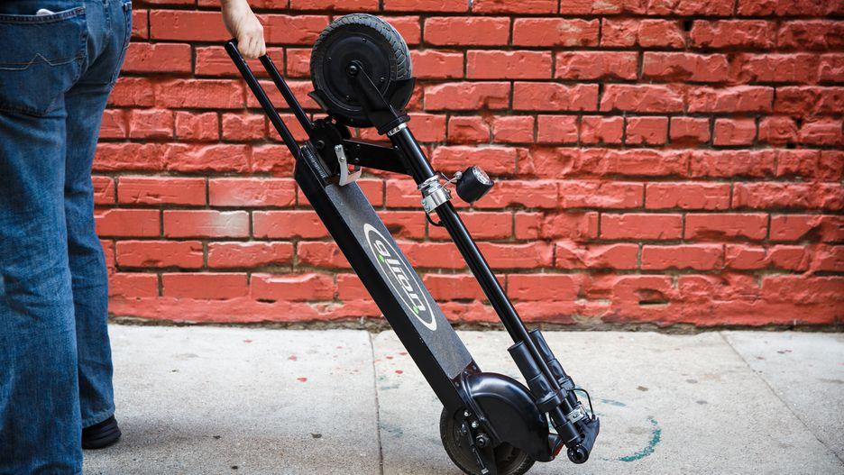 Glion Dolly, un patinete eléctrico plegable