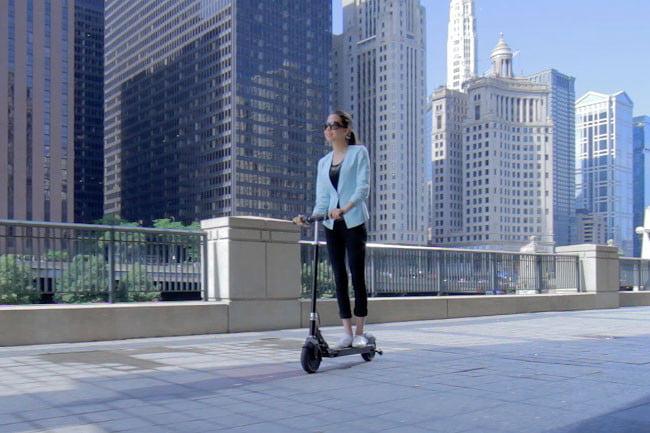 Glion Dolly, el mejor patinete eléctrico para ciudad.